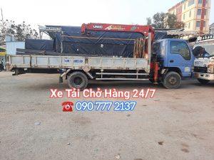 Cho thuê xe cẩu tự hành 2 tấn đến 5 tấn