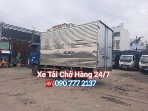 Cho thuê xe tải chở hàng 2.5 tấn